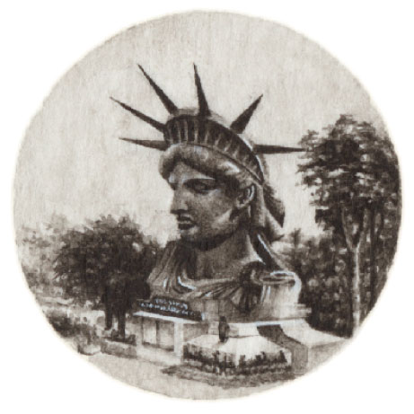 LADY LIBERTY IN PARIS