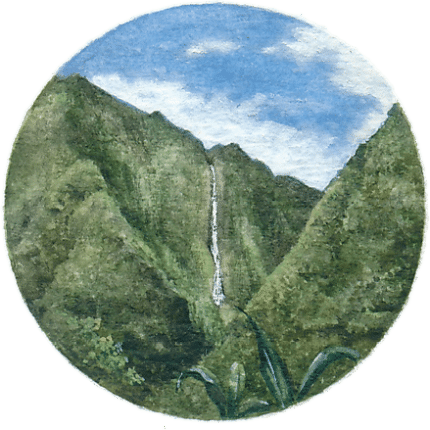 Cascade Blanche