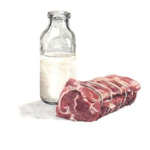 Milk and Meat